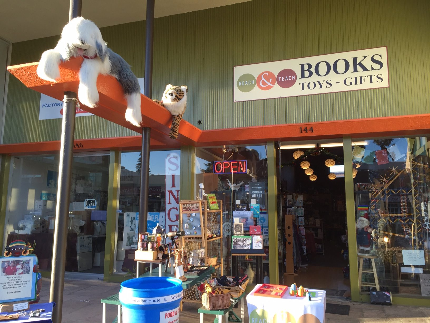 Local Books, Toys, & Gifts Shop