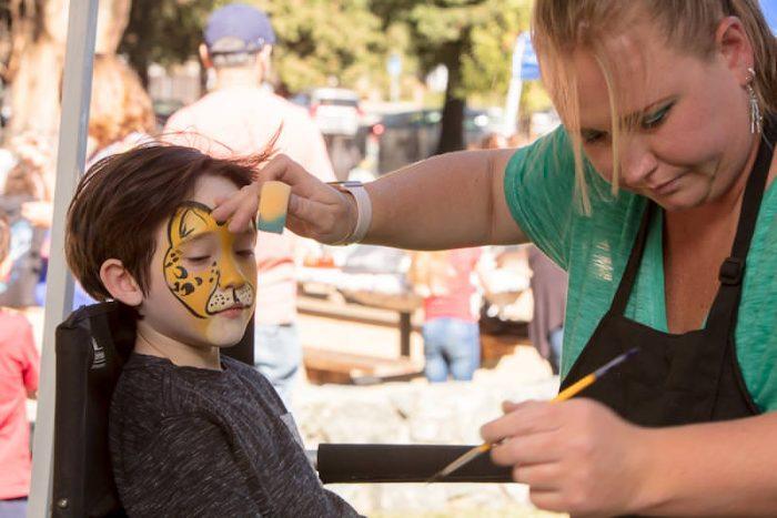 Rumana Jabeen Client Appreciation Picnic Face Painting
