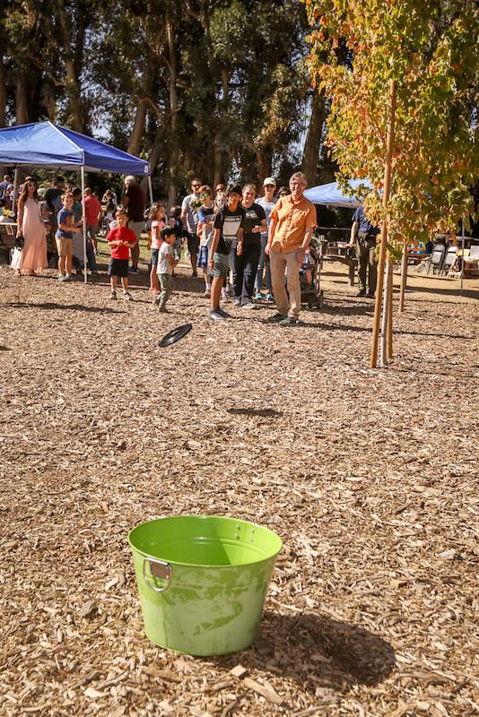 Rumana Jabeen Client Appreciation Picnic Frisbee Toss Contest Fun