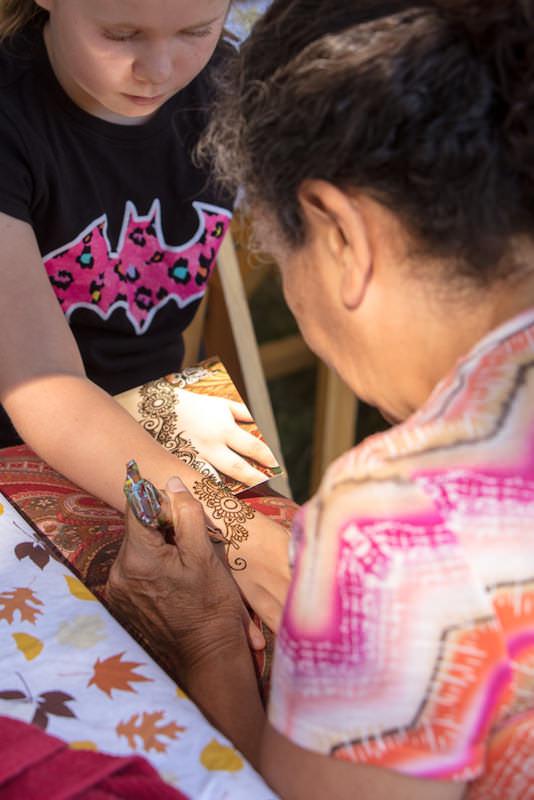 Rumana Jabeen Client Appreciation Picnic Henna Tattoo